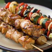 Honey soy chicken Kebab
